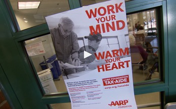 AARP Foundation Tax-Aide B-roll for news stories.