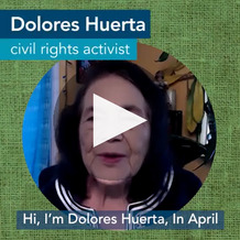 National Healthcare Decisions Day with Dolores Huerta in English