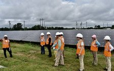 Two solar farms at First Baptist Church of Mount Olive are now generating enough to power a small town. (Nature Conservancy in North Carolina)