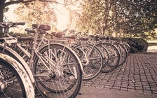 A new project in Conway will create a safe space for bicyclists to park while they enjoy the downtown area. (Pixabay)