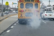 Studies have shown the concentration of pollutants inside a diesel-powered school bus can be 23 to 46 times higher than the safe limit. (electricschoolbuscampaign.org)