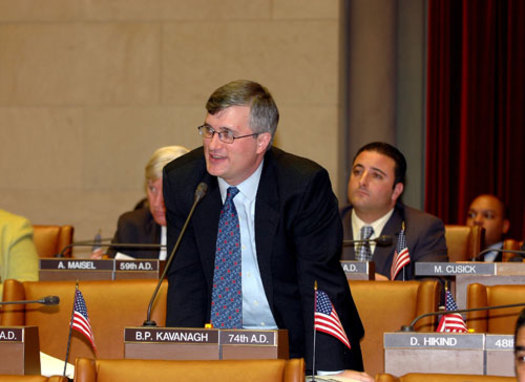 PHOTO: Assemblyman Brian Kavanagh supports a measure to expand the Disability Rent Increase Exemption program. The State Assembly passed it unanimously on Thursday. Photo courtesy of Kavanagh.