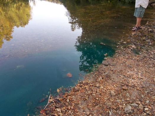 PHOTO: Do you know what's in the water? According to a new report, millions of pounds of toxic chemicals were dumped into Missouri waterways in 2012. CREDIT: Environment Missouri.