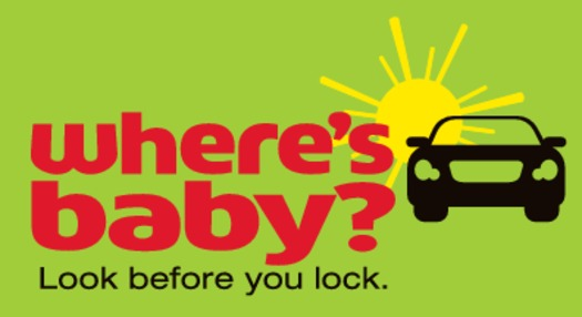 """GRAPHIC: A simple """"Where's Baby?"""" reminder could save a child's life this summer, says Children's Mercy Hospital. It has teamed up with the Nat'l. Highway Transportation Safety Administration to encourage parents to place a sticker in their vehicle. Graphic courtesy Children's Mercy Hospital."""