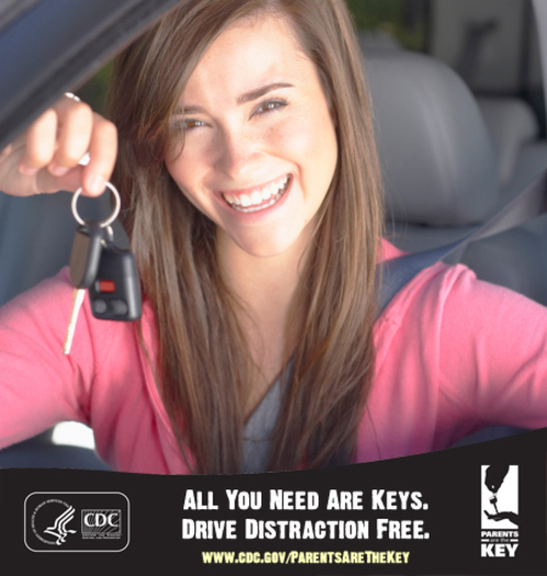 GRAPHIC: The new CDC National Youth Risk Behavior Survey shows 41 percent of teens admit to texting or e-mailing while driving. Photo credit: Centers for Disease Control and Prevention.