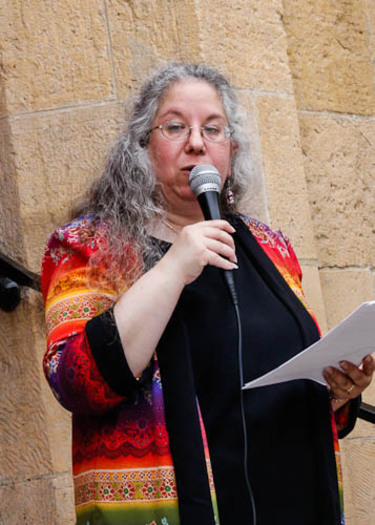 """PHOTO: Rabbi Bonnie Margulis, chairwoman of the Wisconsin Religious Coalition for Reproductive Choice, calls the U.S. Supreme Court ruling in the Hobby Lobby case """"a blow to all women."""" Photo courtesy Wisconsin Faith Voices for Justice."""