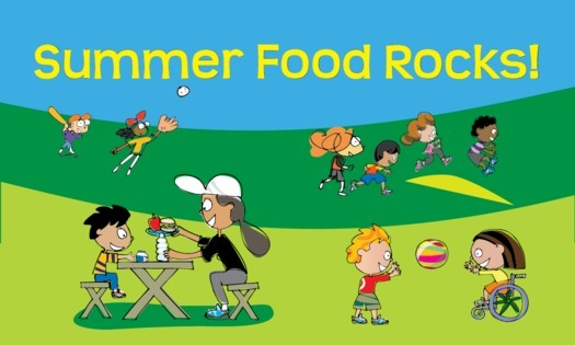 GRAPHIC: A new report on Summer Nutrition Programs shows California and several other states doing a better job of helping kids stay nourished and healthy while school is out for the summer. Photo credit: U.S. Department of Agriculture.
