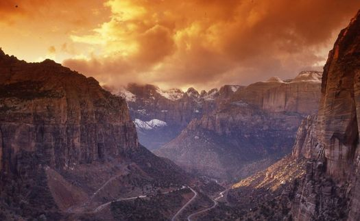 PHOTO: Summer heat has always been part of the Zion National Park experience, but the National Park Service says the impact of climate change is being felt around the park system and is taking steps to deal with its effects on wildlife and park visitors. Photo courtesy National Park Service.