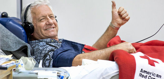 Photo: Blood donations fall off during the summertime, and the Badger Chapter of the American Red Cross says donations are needed right now, particularly O-negative blood. (Photo Courtesy American Red Cross)