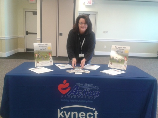 PHOTO: LeAnna Watson obtained health insurance coverage through kynect, the state's health insurance marketplace, and is now helping others sign up. Photo courtesy of LeAnna Watson.