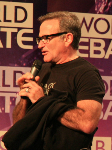 PHOTO: Actor and comedian Robin Williams took his life on Monday. His battle with depression is a reminder to Kentuckians of the anguish of depression, which advocates contend is a medical condition. Photo credit: Steve Jurvetson.