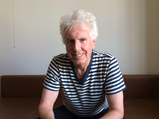 "PHOTO: Graham Nash, of Crosby Stills and Nash, fears America has been divided into a nation of ""haves and have-nothings."" Photo credit: Mark Scheerer"