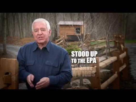 GRAPHIC: Outside groups have spent or committed to spend about $5.5 million for political ads in West Virginia's 3rd congressional race, where Congressman Nick Rahall is running against state Sen. Evan Jenkins. That's about one-and-a-half times what the candidates and the parties are spending. Screengrab from an ad by Nick Rahall for Congress.