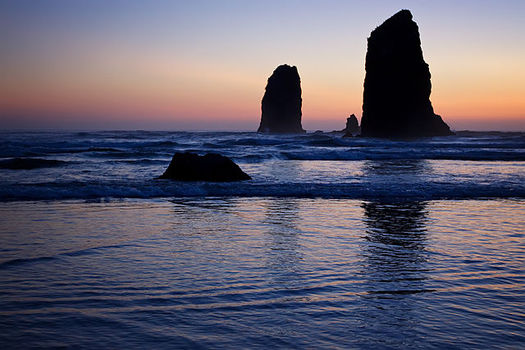 PHOTO: Clatsop County may soon be known for more than its beautiful beach scenery. It has been selected for a five-year health improvement challenge, the Way to Wellville, with a $5 million prize at stake. Photo credit: Steven Pavlov, Wikimedia Commons.