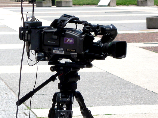 PHOTO: Experts say the recent protests in Ferguson highlight the need for better understanding that the right to record events in public extends to both working journalists and everyday citizens. Photo credit: Alvimann/Morguefile.