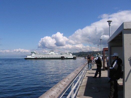 PHOTO: The popular Edmonds Fishing Pier is almost 40 years old and needs major renovations to keep it safe. The city says it has all but given up counting on scarce Land and Water Conservation Fund dollars to help complete the work. Photo courtesy City of Edmonds.