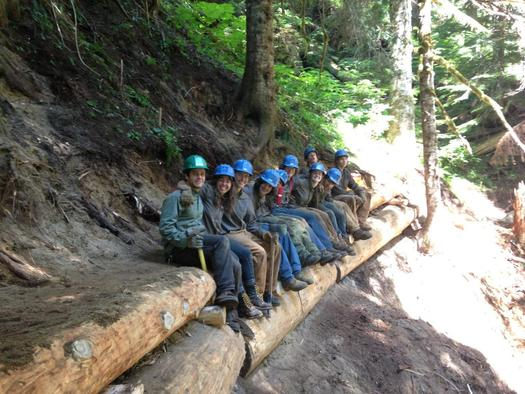 Wilderness Act Turns 50 Teaching by Trail Building ...
