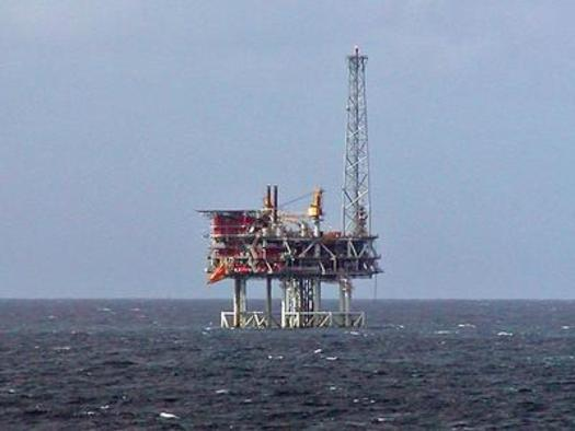 PHOTO: An offshore oil platform, like this one in the North Sea, is similar to what is being proposed for the North Carolina coast. Thursday's court ruling against BP could prompt more caution in future drilling plans. Photo courtesy of Institute for Southern Studies.