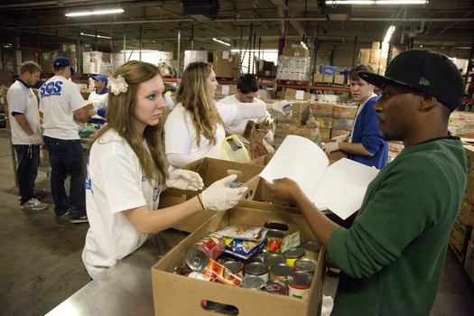 PHOTO: One in six households in Nevada continues to struggle with hunger, according to a new report from the U.S. Department of Agriculture. Photo Credit: Federal Emergency Management Agency.
