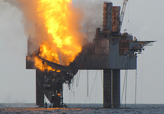 "PHOTO: A federal judge has ruled BP showed ""gross negligence"" in the 2010 Deepwater Horizon disaster, which means the company's fines for violating the Clean Water Act will quadruple. Photo courtesy of bridgethegulfproject.org."