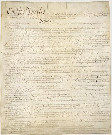 PHOTO: What could become the 28th amendment to the U.S. Constitution, and reform political campaign spending limits, is being debated in the United States Senate. Photo credit: Library of Congress.