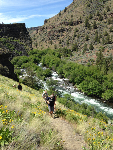 PHOTO: Scout Camp, on the Middle Deschutes River, is one area hikers will explore as part of the Desert Conference and Wilderness Weekend. Photo credit: Gena Goodman-Campbell.