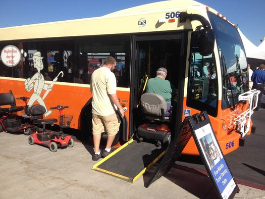 PHOTO: A $16 million federal grant will be used to add and improve public transportation options in the Reno-Sparks area. Photo credit: Regional Transportation Commission of Washoe County.