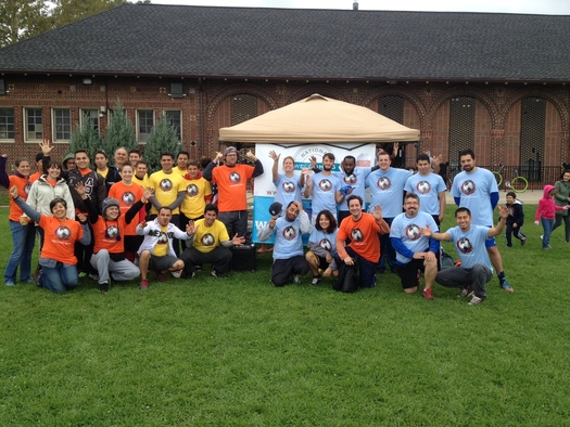 PHOTO: Global Detroit helped kicked off this year's Welcoming Week celebrations with the Welcoming Games soccer tournament in Detroit's Clark Park. Photo courtesy of C. Sauve.