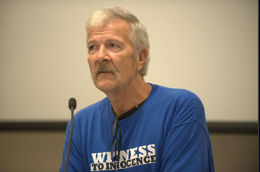 PHOTO: Gary Drinkard, exonerated from Alabama's death row, will bring his message that capital punishment makes no sense to Kentucky during a week long speaking tour, beginning tonight. Photo courtesy Parker Digital Imaging.