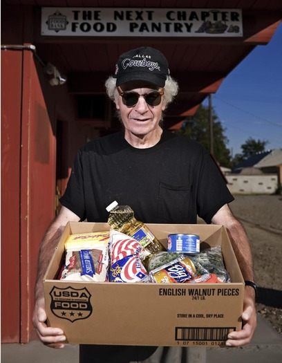 PHOTO: A high percentage of people age 50 or older in Oregon don't apply for SNAP or food-stamp benefits even though they are eligible. For Hunger Action Month, AARP Oregon is calling attention to the need in this age group, particularly folks ages 50-59. Photo credit: Daniel Root for Oregon Food Bank.
