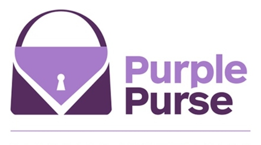 "PHOTO: The Kentucky Domestic Violence Association is one of 140 groups taking the ""Purple Purse Challenge"" to help survivors of abuse regain their independence. Image courtesy of the Allstate Foundation."