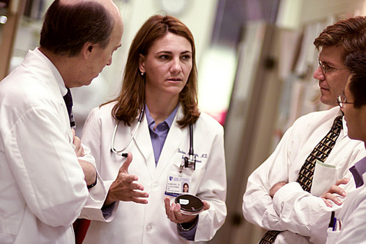 PHOTO: A new proposal would provide doctors an easy way to practice in multiple states, and could especially help rural, medically underserved areas. Photo credit: Duke Medicine