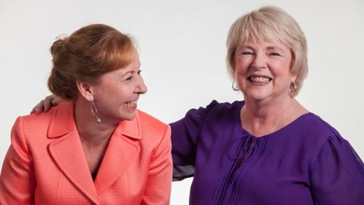 PHOTO: Sharing a politically notorious last name has given Karen, left, and Joyce Koch an unexpected push into the spotlight as spokeswomen for working class families. Photo courtesy of the Koch Sisters.