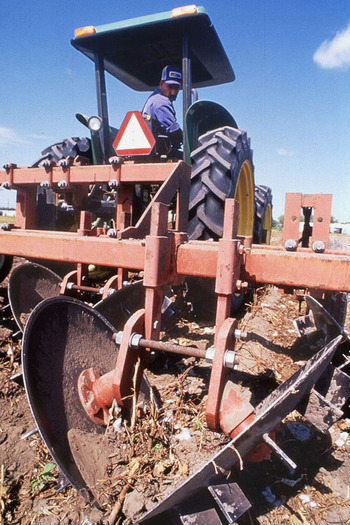 PHOTO: Farming can be a hazardous profession, but an annual report from Purdue University finds a continued downward trend in fatal accidents on Indiana farms. Photo credit: Jack Dykinga, U.S.Dept. of Agriculture.
