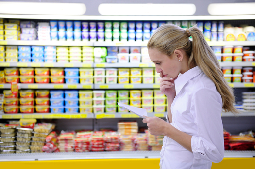 PHOTO: Will groceries cost more in Oregon if Measure 92 passes? A comparison of studies concludes listing genetically engineered ingredients on food labels would cost $2.30 per person, per year. Photo credit: Mangostock/iStockphoto.com.