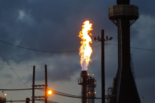 PHOTO: A new survey finds a majority of North Dakota voters want policies to limit the venting or flaring of natural gas to reduce the amount of energy wasted on public lands. Photo credit: Roy Luck/Flickr.