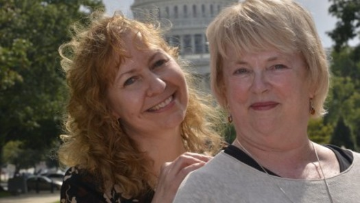 PHOTO: Their last name is the only thing Karen (L) and Joyce Koch share with the billionaire Koch brothers. This week, they're using their social media spotlight to advocate for a higher national minimum wage. Photo courtesy of the Koch Sisters.