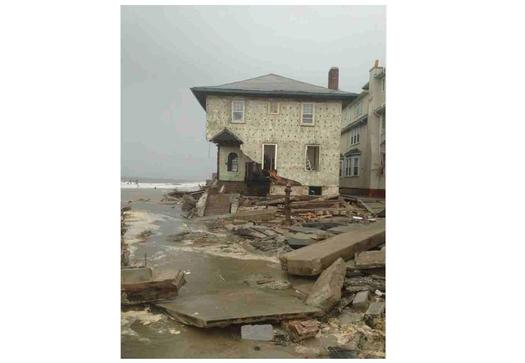 PHOTO: Superstorm Sandy was the most expensive hurricane in history, but a new report says we're not doing what we should to prepare for the rising impact of extreme coastal storms connected to climate change. Photo by Wikimedia.