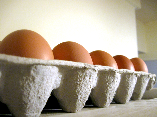 PHOTO: Eggs produced in cramped cages are banned in California, and a federal judge has upheld the state's right to do so in tossing out a challenge brought by Missouri Attorney General Chris Koster. Photo credit: Alvimann/morguefile.com.