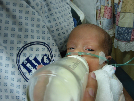 """PHOTO: Iowa has earned a grade of """"B"""" in this year's report card on premature births from the March of Dimes. Photo credit: Cesar Rincon/Flickr."""