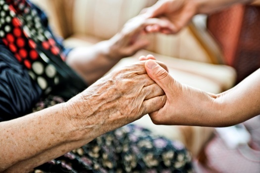 PHOTO: Caregivers lend much more than a helping hand to help those they love, which is why AARP is reaching out to support - and honor - the role they play in their families and their community. Photo courtesy AARP.