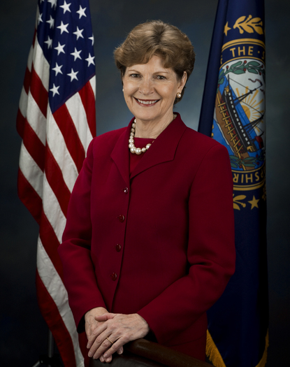 PHOTO: A new poll finds 66 percent of Granite State voters want to see Senator Jean Shaheen support legislation to address the effects of climate change. Photo credit: U.S. Senate.