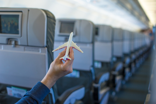 PHOTO: Up, up and away...unless there are problems. During the busy holiday travel season, airline passengers are urged to know their rights in case of flight delays, cancellations, lost luggage and other potential hassles. Photo credit: travinkovstudio/iStockphoto.com