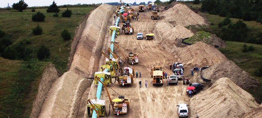 PHOTO: Landowners on the routes of proposed pipelines have a good legal basis for denying pipeline companies permission to survey on their land, according to legal experts. Photo courtesy of Appalachian Mountain Advocates.