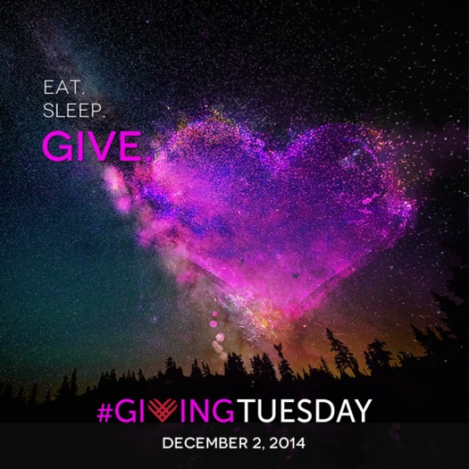 PHOTO: #GivingTuesday efforts are calling on people in Nevada and elsewhere to give back to their local communities, and is meant to balance out the overwhelming consumerism of Black Friday and Cyber Monday. Photo credit: #GivingTuesday.org.