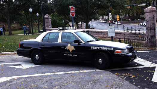 PHOTO: Troopers with the Texas Highway Patrol are expected to arrest around 400 drunk drivers over the Thanksgiving weekend. Photo credit: Scott/Flickr.