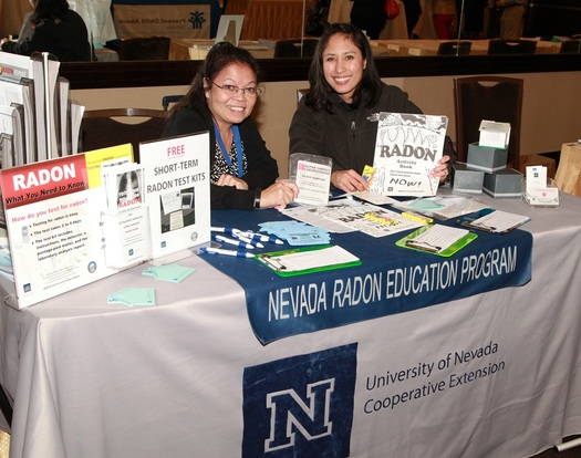PHOTO: Nevadans are being encouraged to test for the potentially deadly radon gas, which research shows is at an unsafe level in one in four homes in the Silver State. Photo courtesy of the University of Nevada-Reno.