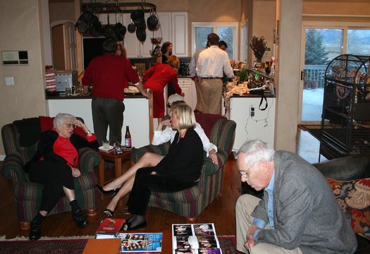 PHOTO: Holiday family gatherings can be fun, but also stressful. Mental-health experts say it's OK to pace yourself and even say 'no' to situations you know could be sources of conflict. Photo credit: Jeffery Beall/Flickr Creative Commons.