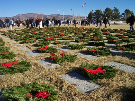 PHOTO: Many of America's deceased veterans will be recognized through ceremonies on Saturday. Photo credit: Nevada Department of Veterans Services.
