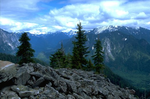 PHOTO: A view of the Snoqualmie Valley shows why the area is prized for its beauty, even with its proximity to some of the state's most densely populated areas. The Alpine Lakes Wilderness expansion legislation protects another 22,000 acres of the area. Photo credit: Kevin Geraghty.